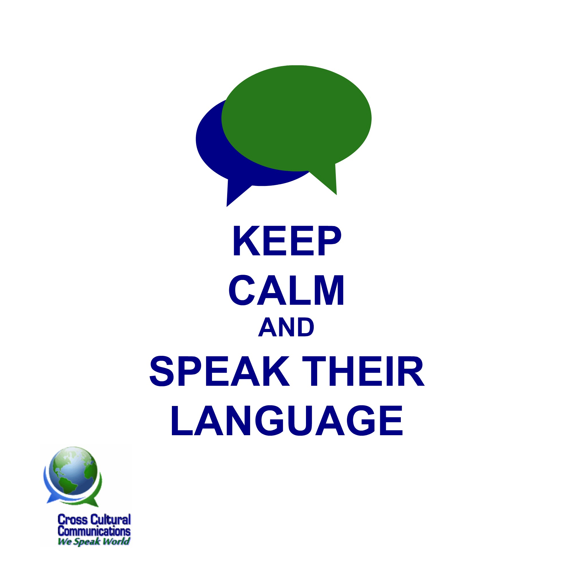 We Speak Their Language